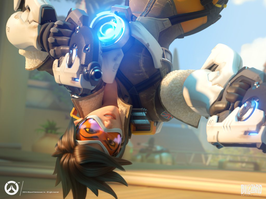 Overwatch tracer-wallpaper-standard